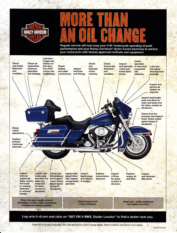 Scheduled Maintenance Plan at Mike Bruno's Bayou County Harley-Davidson