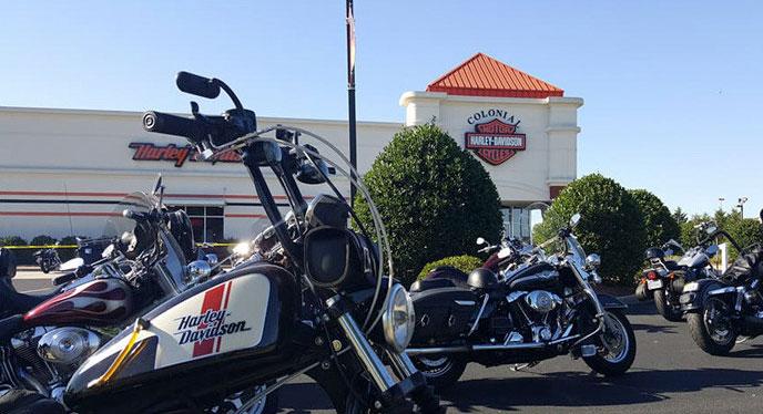 Colonial Harley-Davidson Storefront