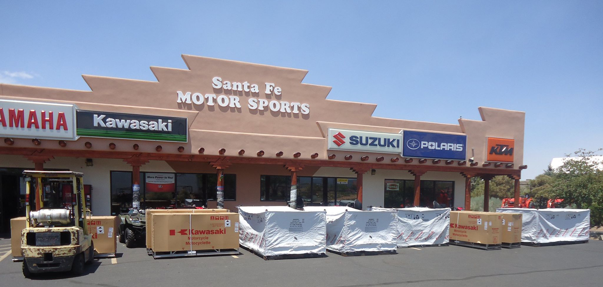 Santa Fe Motorsports sells Yamaha, Polaris, Kawasaki, Suzuki, KTM and Kabota Tractors