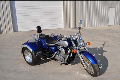 Freedom Rides Specializes In Honda Trike Conversions