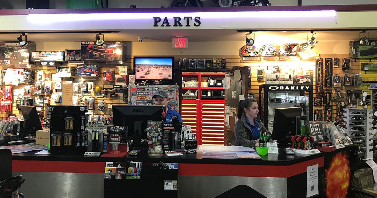Parts Department at Dale's Fun Center
