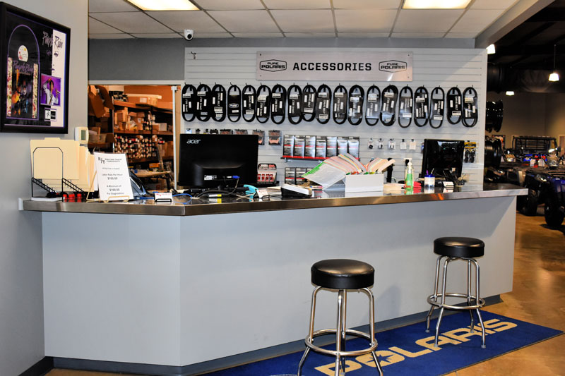 Service Department at Road and Track Powersports