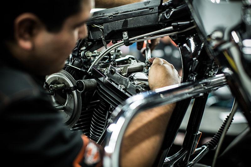 Service Department at Thunder Harley-Davidson