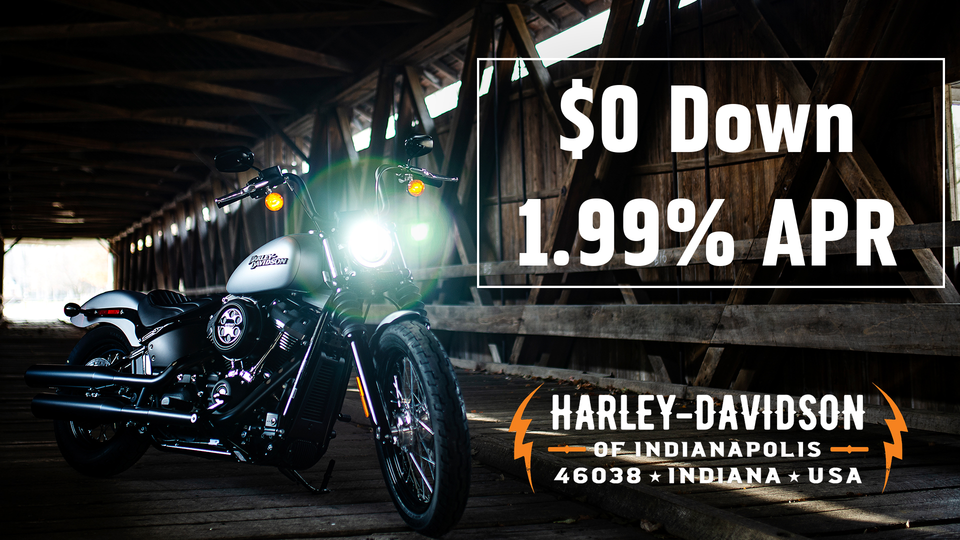 Finance Rates | Buying A Motorcycle | Harley-Davidson Financial Services
