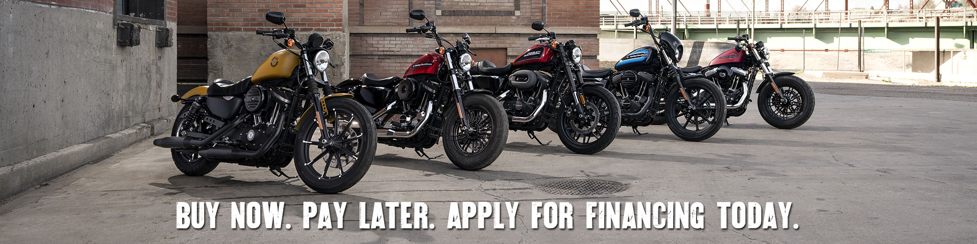 Get Financing For Your Motorcycle at Thunder Harley-Davidson