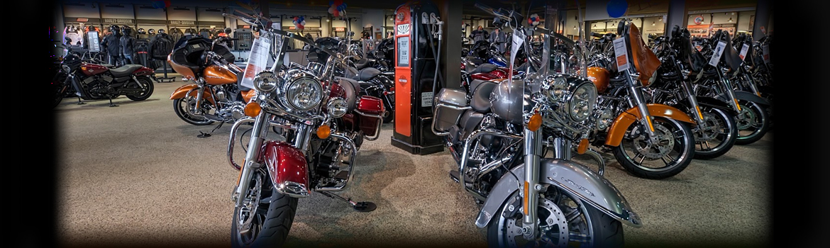 Sales Department at All American Harley-Davidson