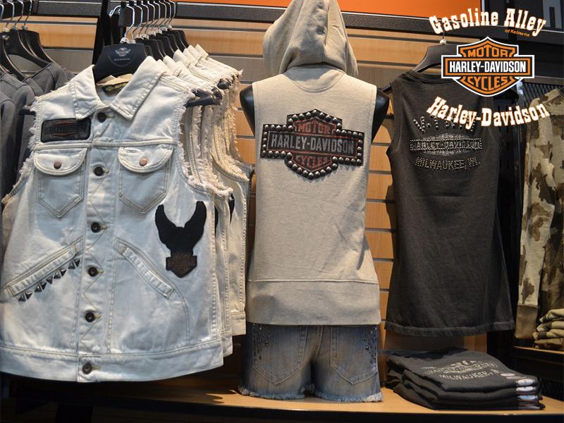 MotorClothes jean vests at Gasoline Alley Harley-Davidson of Kelowna