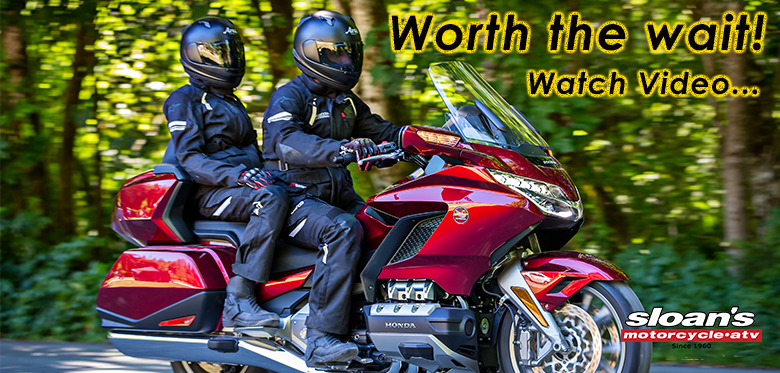 2018 Honda Gold Wing at Sloan's Motorcycle & ATV