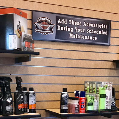 Service Department at Bud's Harley-Davidson