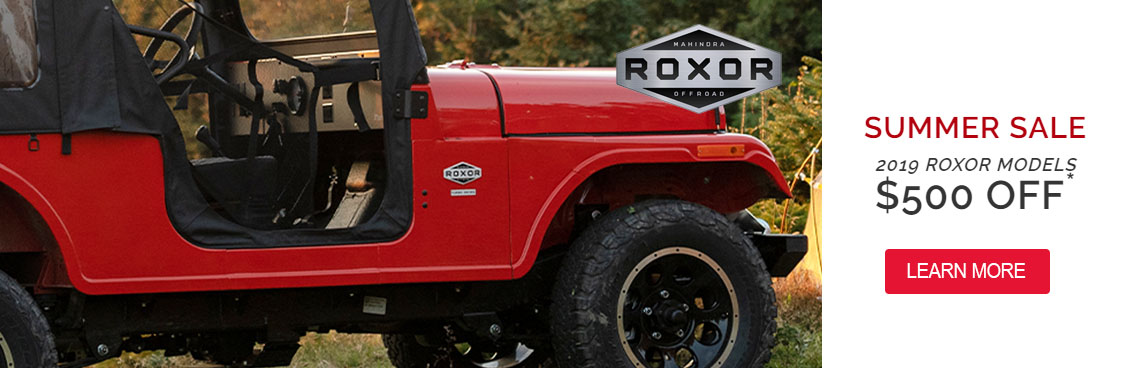 Roxor Summer Sale at Thornton's Motorcycle Sales