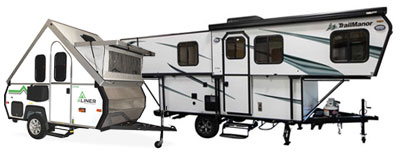Prosser's RV Premium Outlet Folding Campers
