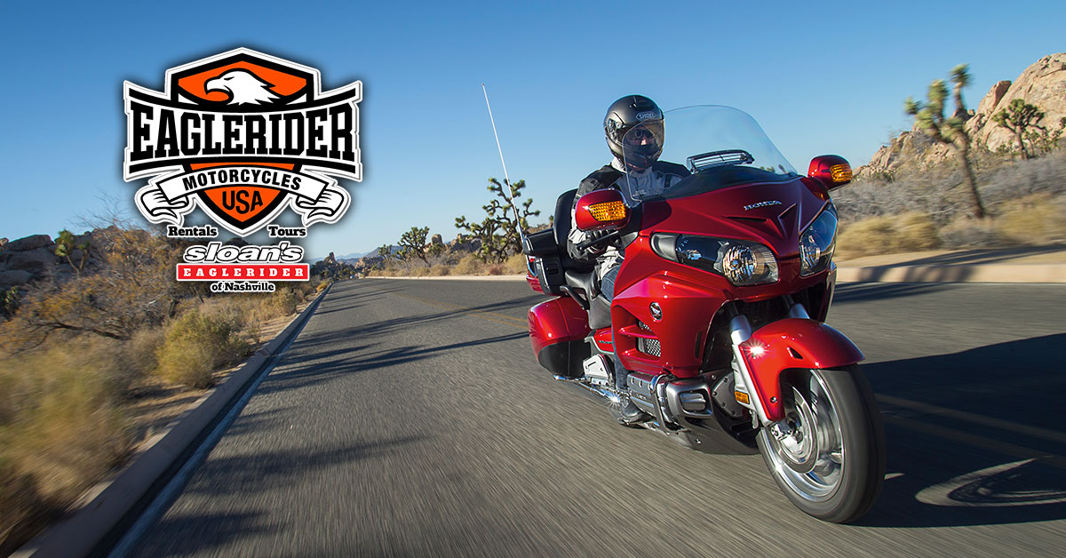 Rent a Harley-Davidson, Indian Motorcycle, Victory Motorcycle or Slingshot 3-Wheeler in Nashville, Tennessee from Sloan's Motorcycel & ATV and Eagle Rider Motorcycle Rental