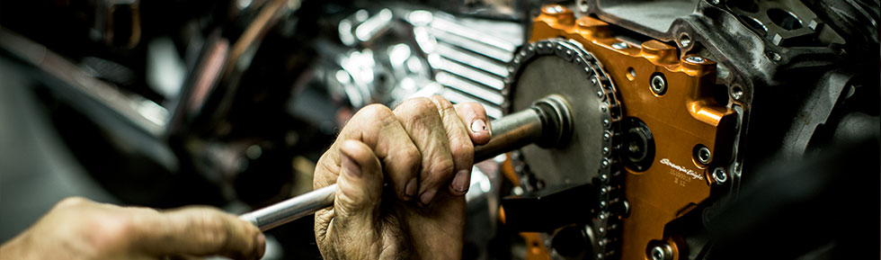Service Department at Calumet Harley-Davidson