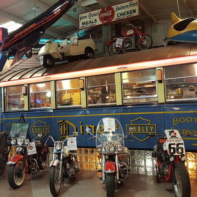 The original Harley Diner at South East Harley-Davidson