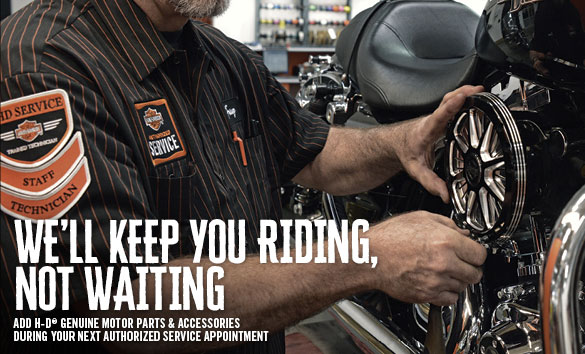 Service Department at Champion Harley-Davidson