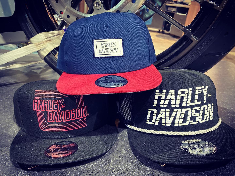 MotorClothes hats at Gasoline Alley Harley-Davidson