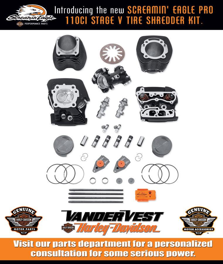 Parts Department at Vandervest  Harley-Davidson