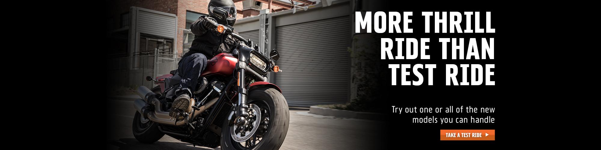 Harley-Davidson More Thrill Than Test Ride at Bull Falls Harley-Davidson