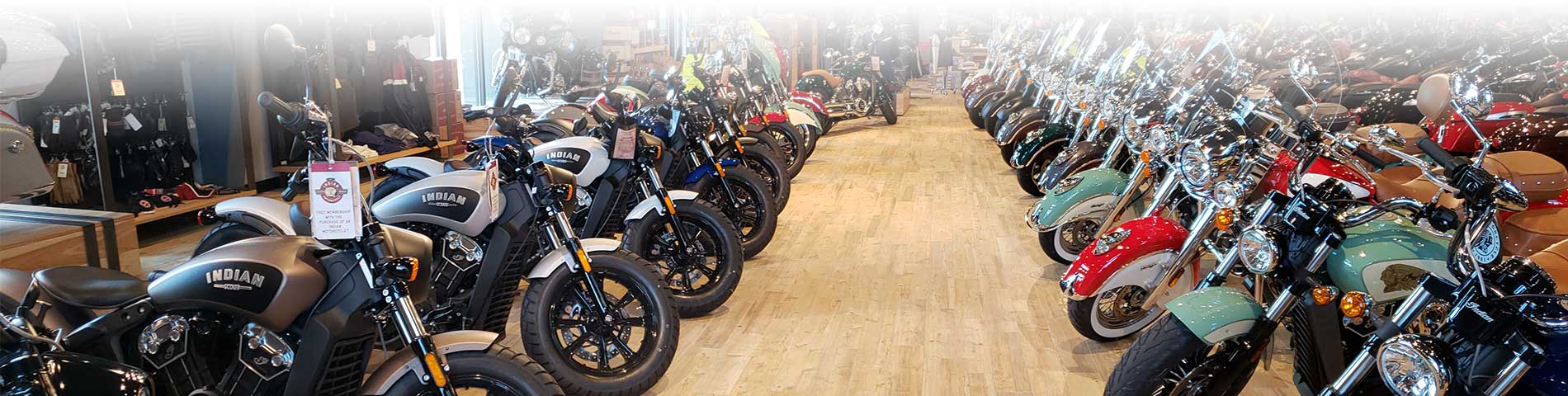 Indian Showroom at Stu's Motorcycles