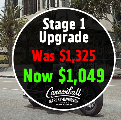 Stage One Upgrade Cannonball Harley-Davidson