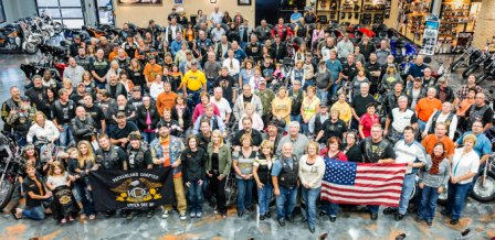 HOG chapter at Vandervest Harley-Davidson