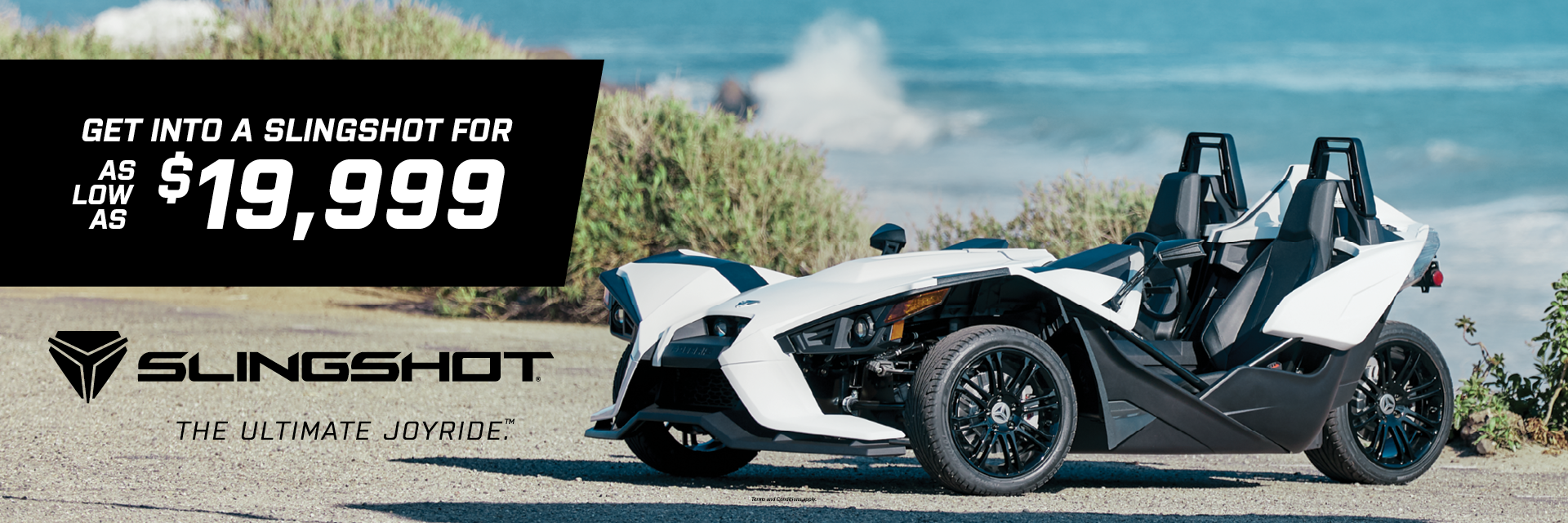 Polaris Slingshot Drive Home Promotion at Indian Motorcycle of Northern Kentucky