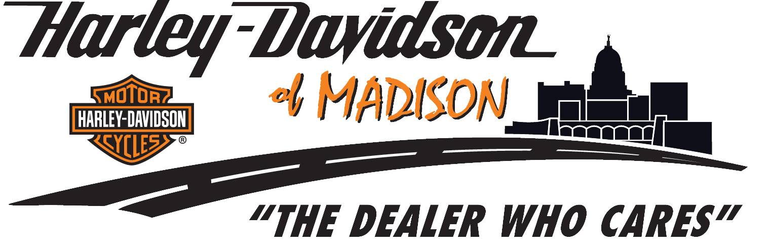 Harley-Davidson of Madison logo-The Dealer Who Cares
