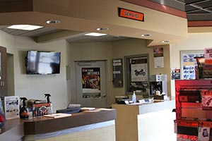 Service Department at Waukon Harley-Davidson