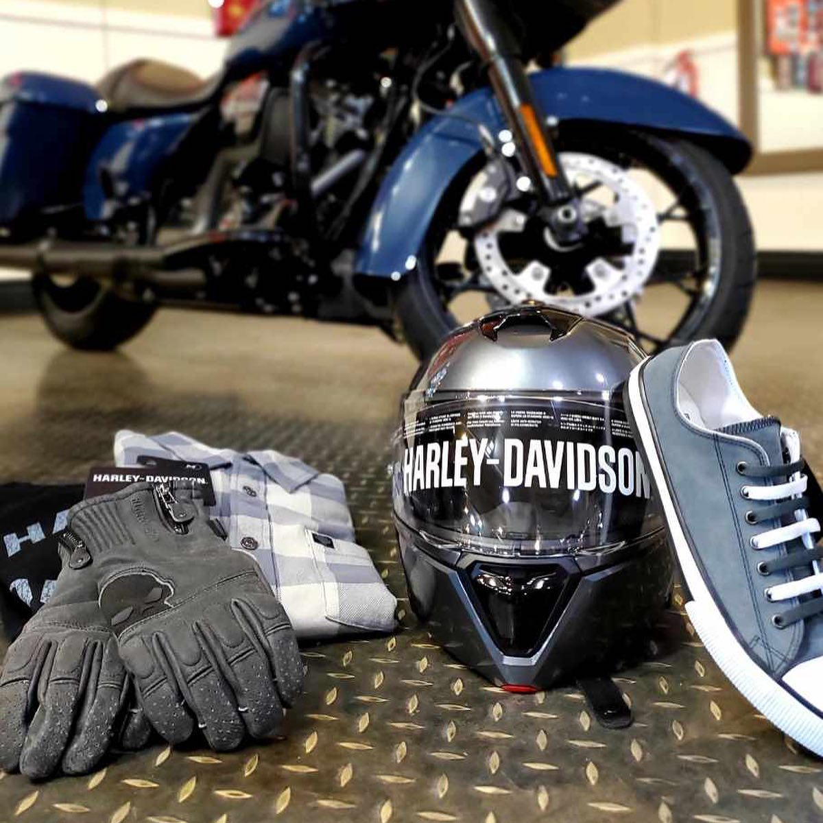 MotorClothes gear at Gasoline Alley Harley-Davidson