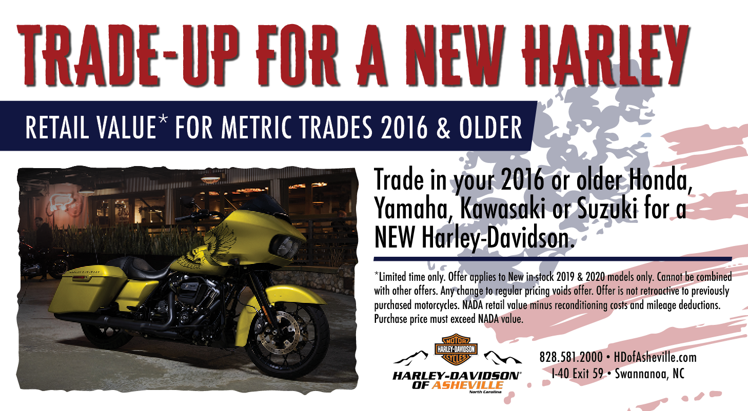 Get Top Value on your Trade-In at Harley-Davidson of Asheville
