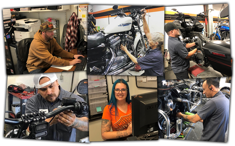 Service Department at Quaid Harley-Davidson