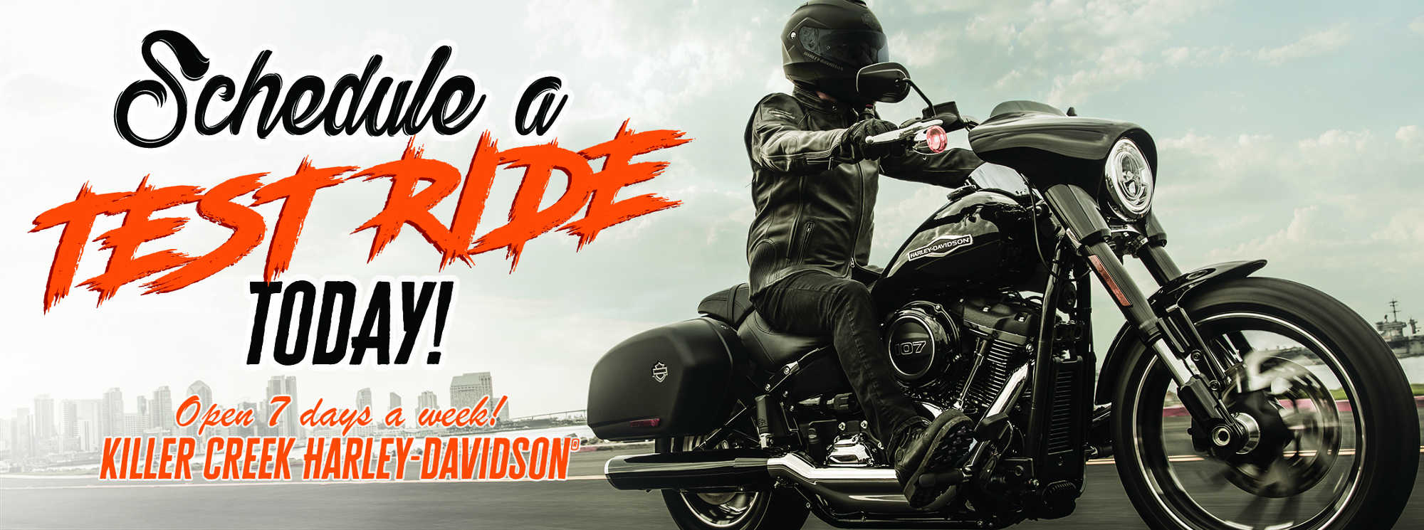 Come And Schedule a Test Ride
