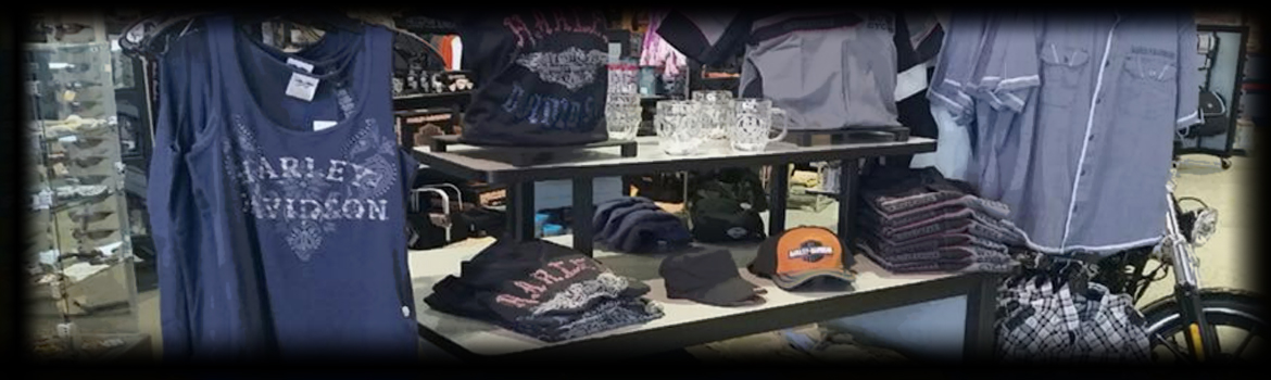 MotorClothes Department at All American Harley-Davidson