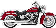Harley-Davidson Softail at Destination Harley-Davidson