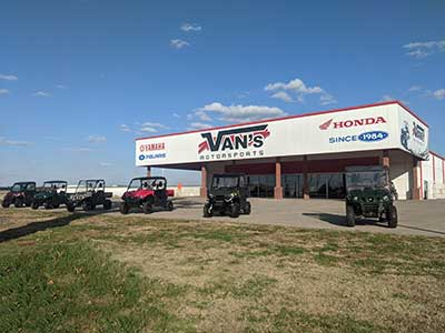 Van's Motorsports in Sparta, IL