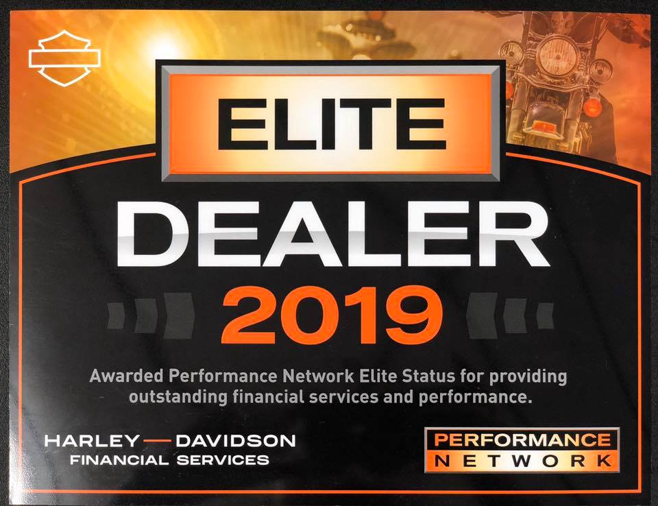 2019 Harley-Davidson Elite dealer