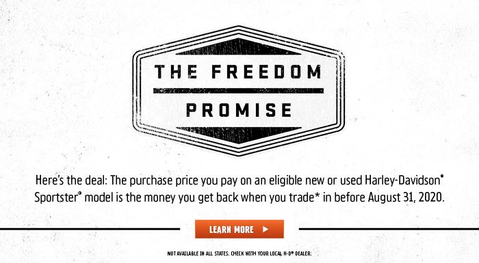 Harley-Davidson Freedom Promise at Vandervest Harley-Davidson