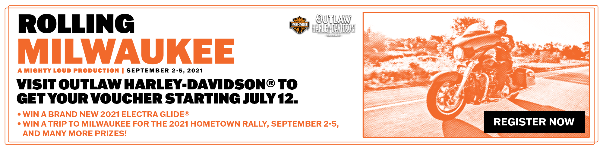 Outlaw Harley-Davidson Rolling Milwaukee