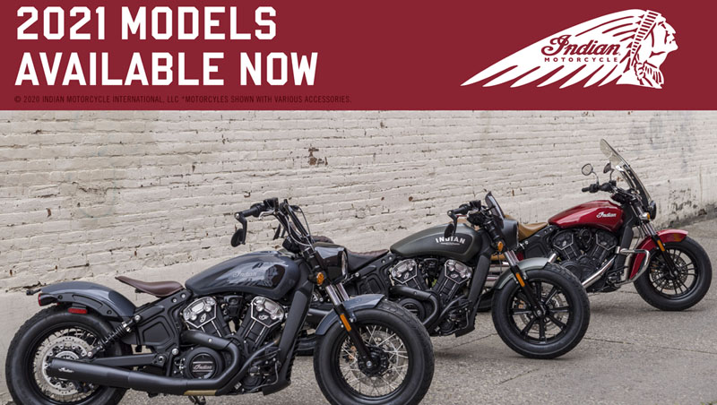 2021 Indian Motorcycles Available at Stu's