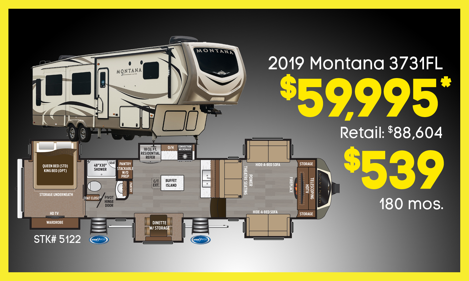 RV Promotions at Campers RV Center