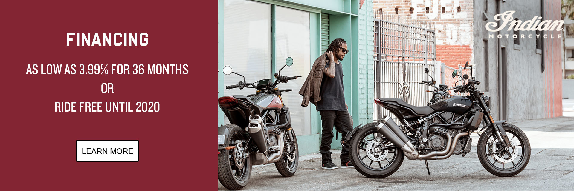 Indian Promotional Financing - 2019 FTR 1200 Family at Indian Motorcycle of Northern Kentucky