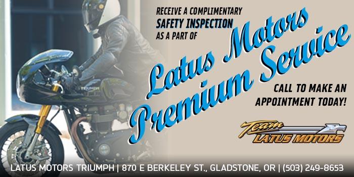 Latus Motors Premium Service