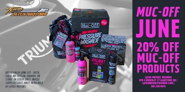 20% Off Muc-Off Products