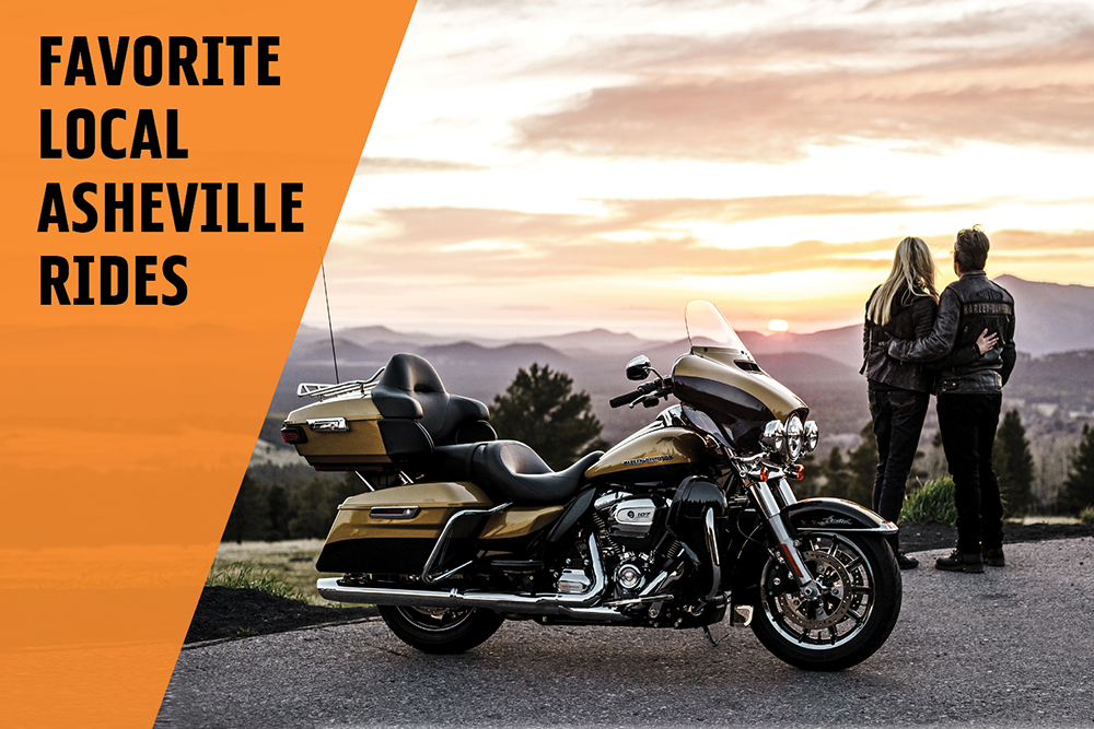 Our Favorite Local Asheville Rides - Harley-Davidson of Asheville