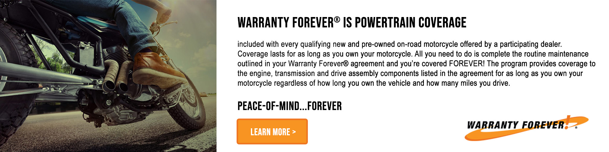 Warranty Forever at Platte River Harley-Davidson
