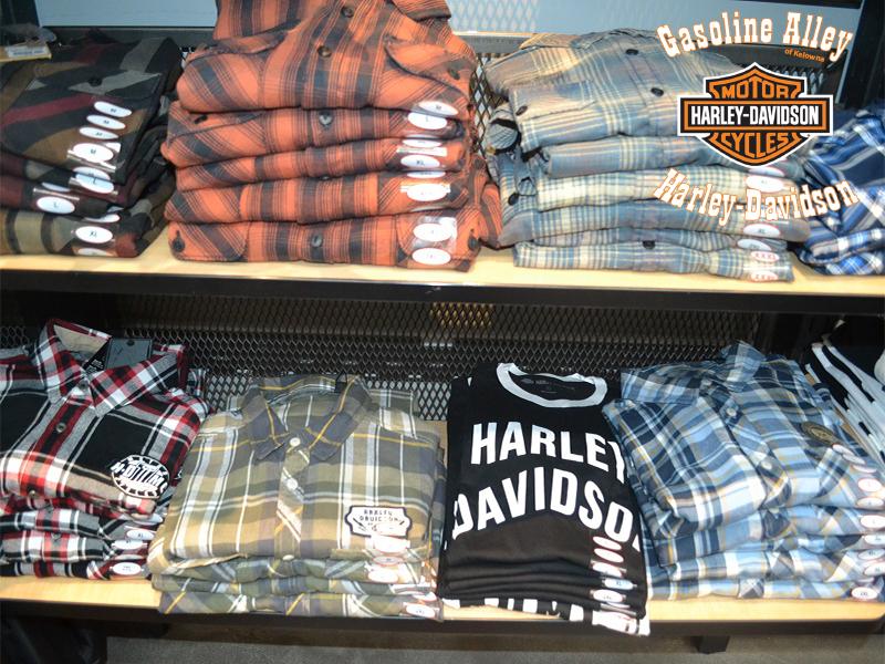 MotorClothes button down shirts at Gasoline Alley Harley-Davidson of Kelowna