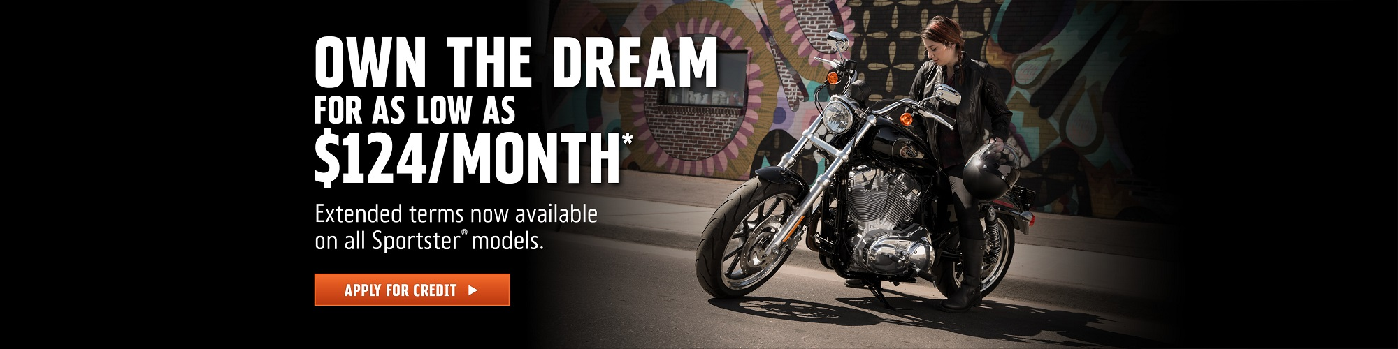 Harley-Davidson 84-Month Sportster Attainability Promotion at Palm Springs Harley-Davidson