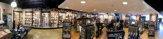 Parts Department at Suburban Motors Harley-Davidson