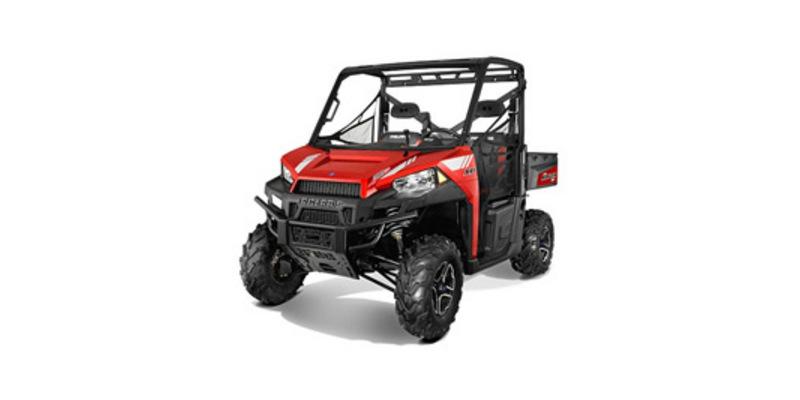 2014 Polaris Ranger XP 900 EPS Sunset Red LE at Waukon Power Sports, Waukon, IA 52172