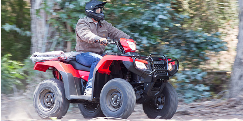 2017 Honda FourTrax Foreman Rubicon 4x4 Automatic DCT EPS at Kent Powersports, North Selma, TX 78154